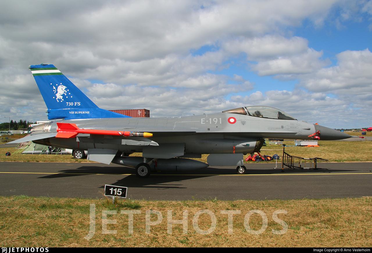 E-191 | General Dynamics F-16AM Fighting Falcon | Denmark