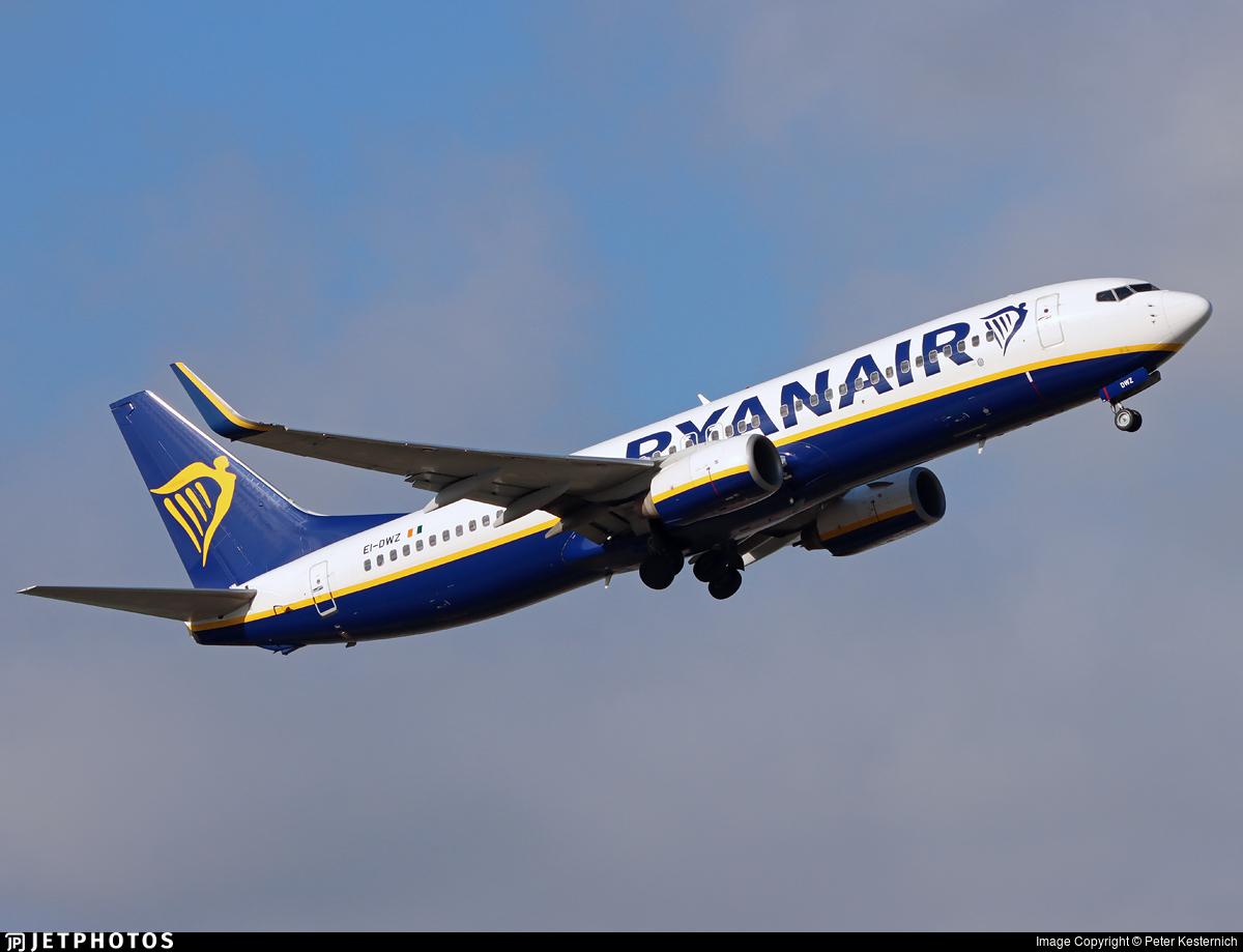 EI-DWZ - Boeing 737-8AS - Ryanair