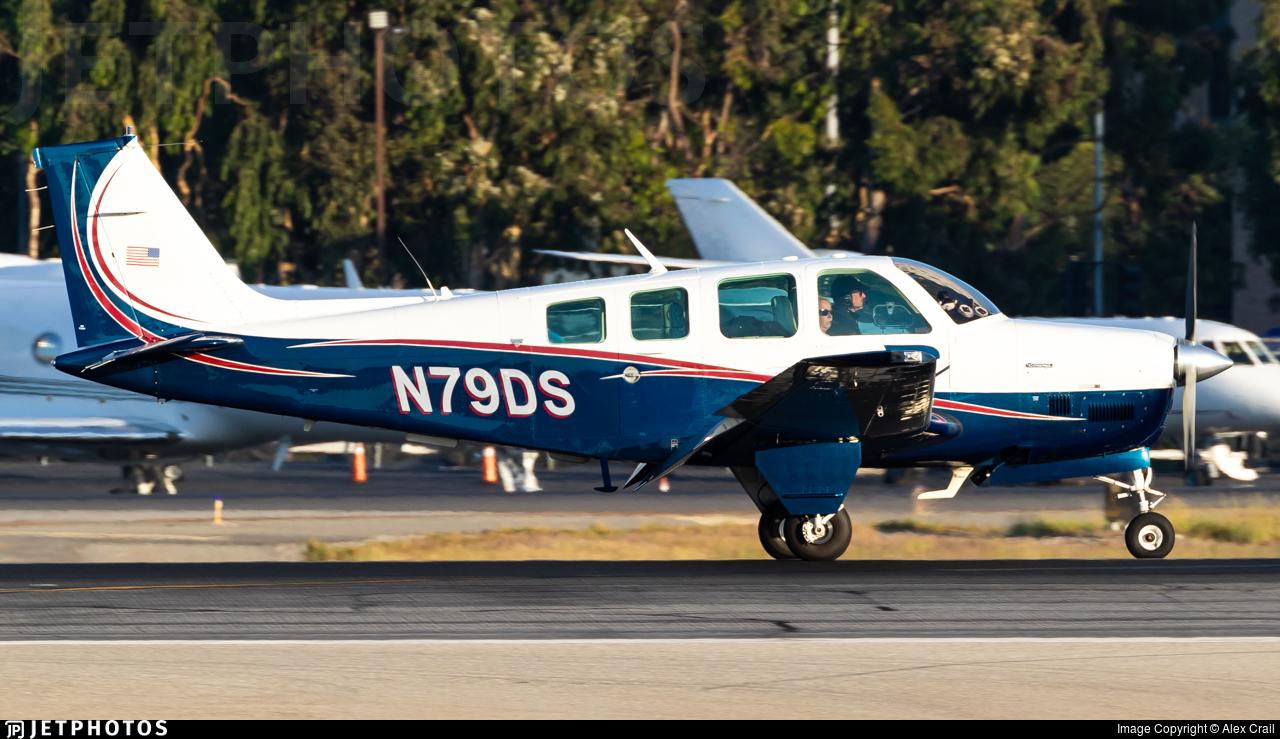 N79DS - Beechcraft B36TC Bonanza - Private