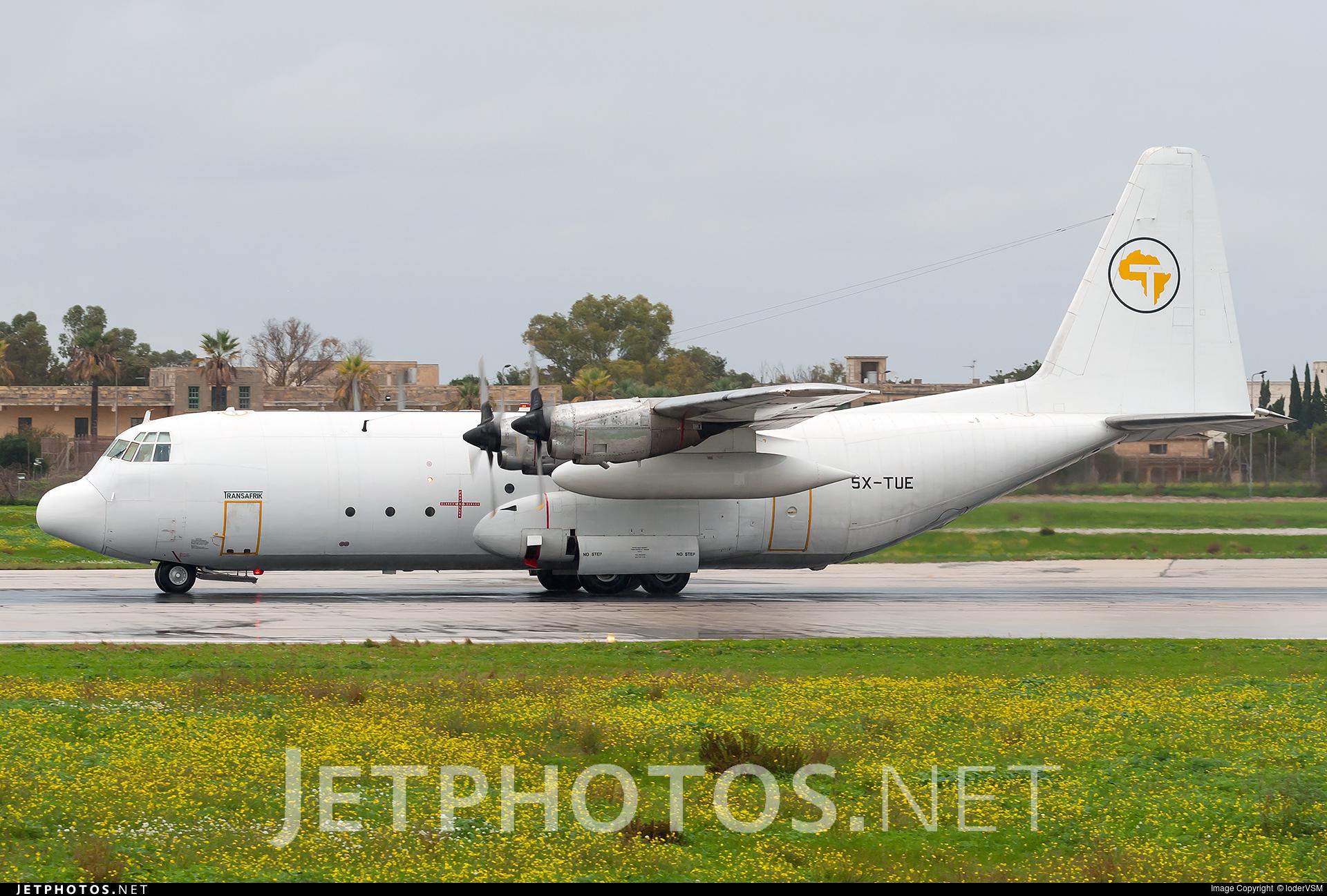 5X-TUE - Lockheed L-100-20 Hercules - Transafrik International