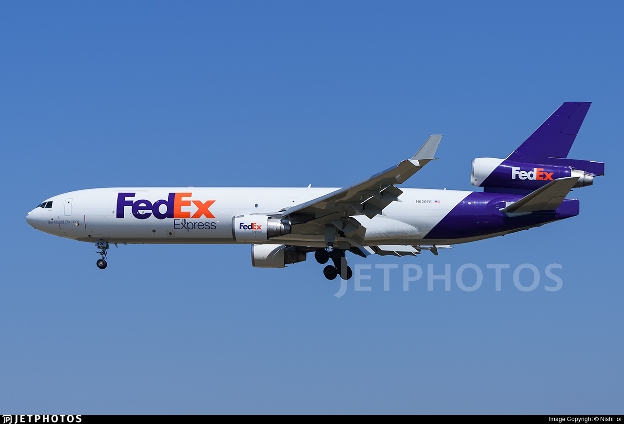 N620fe Mcdonnell Douglas Md 11 F Fedex Nishi Oi Jetphotos