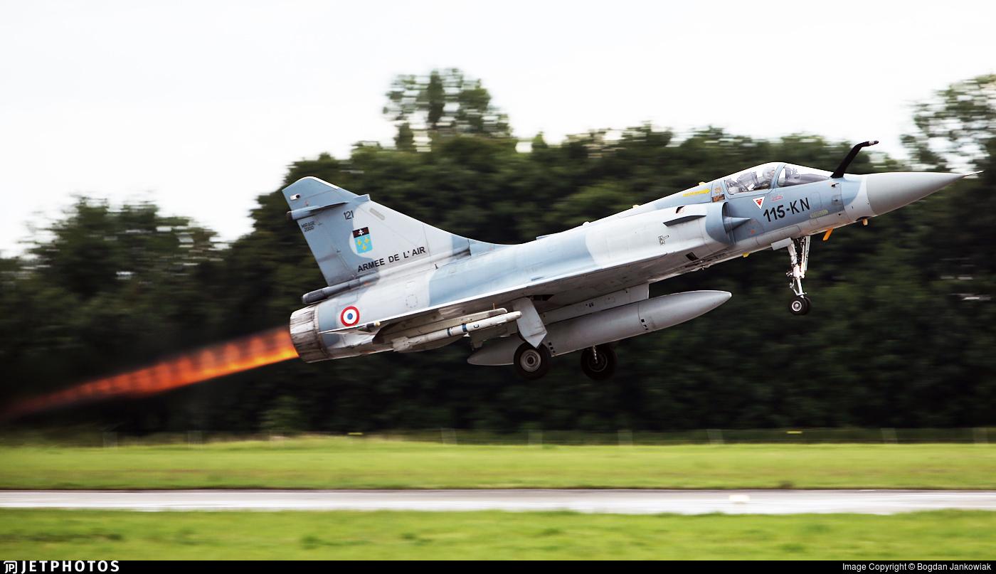 121 - Dassault Mirage 2000C - France - Air Force