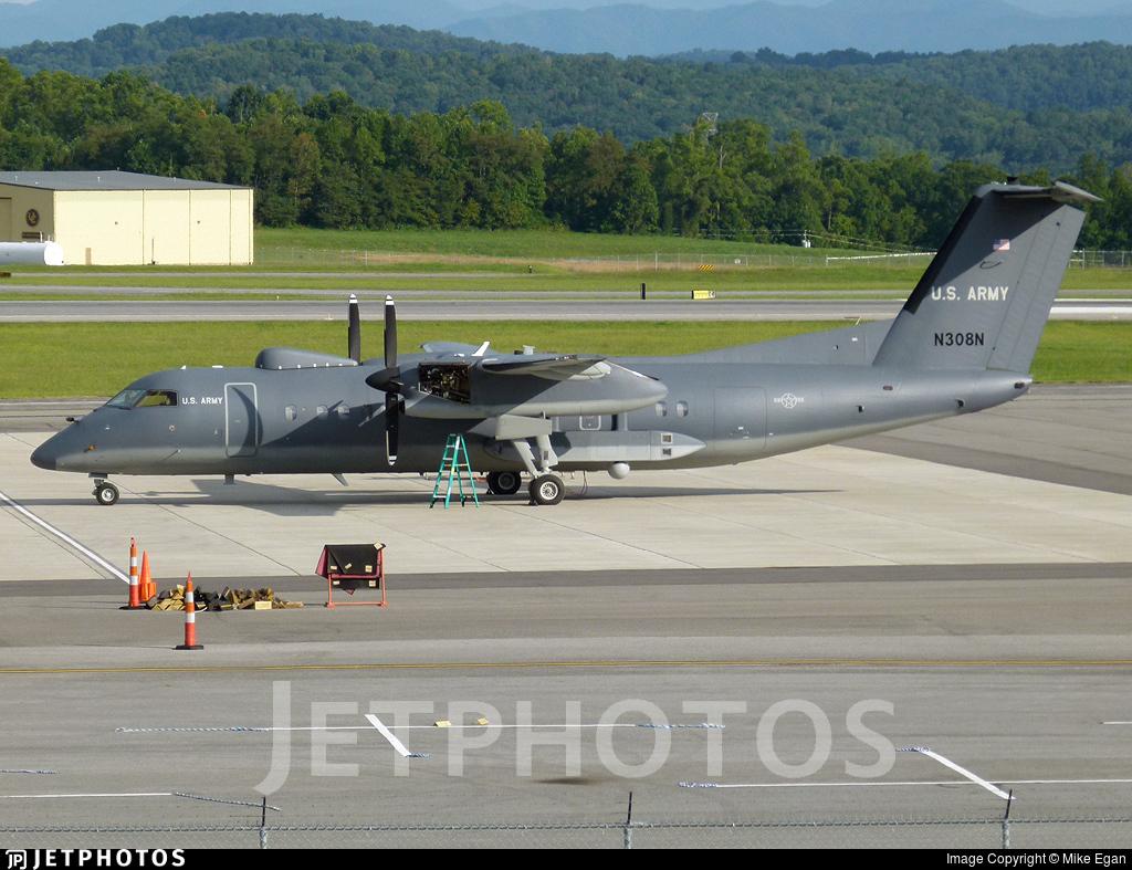 N308N - Bombardier Dash 8-311 - United States - US Army