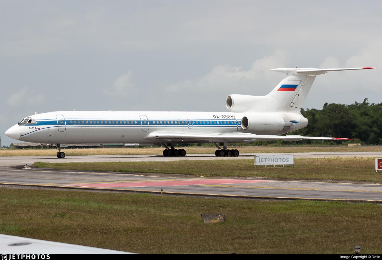 RA-85019 - Tupolev Tu-154M - Russia - Federal Security Service