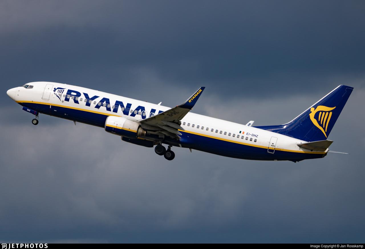 EI-DHZ - Boeing 737-8AS - Ryanair