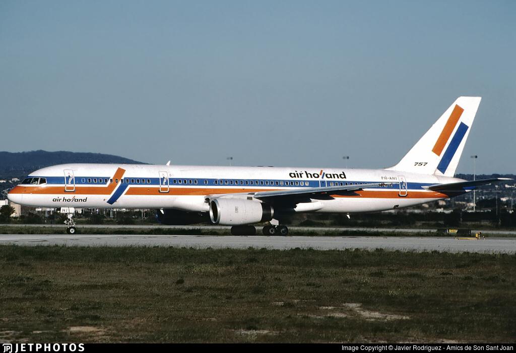 PH-AHI - Boeing 757-27B - Air Holland