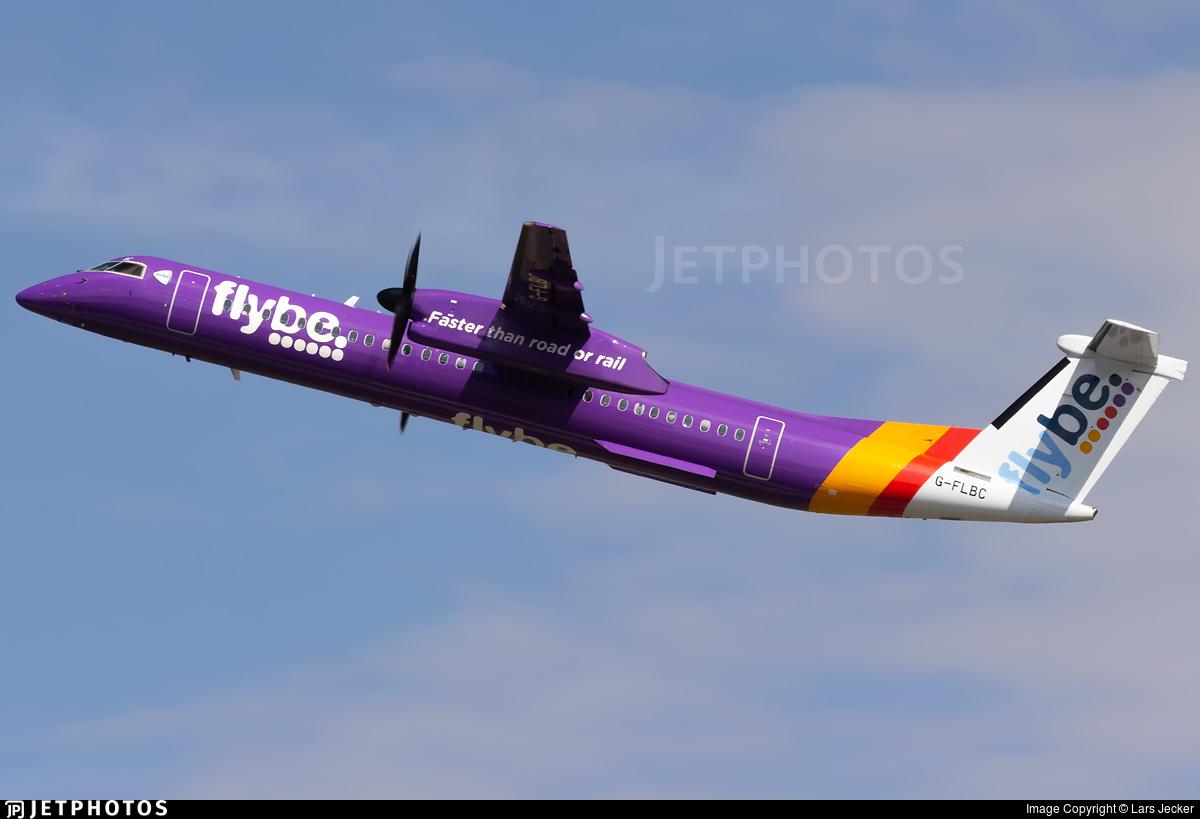 G-FLBC - Bombardier Dash 8-Q402 - Flybe