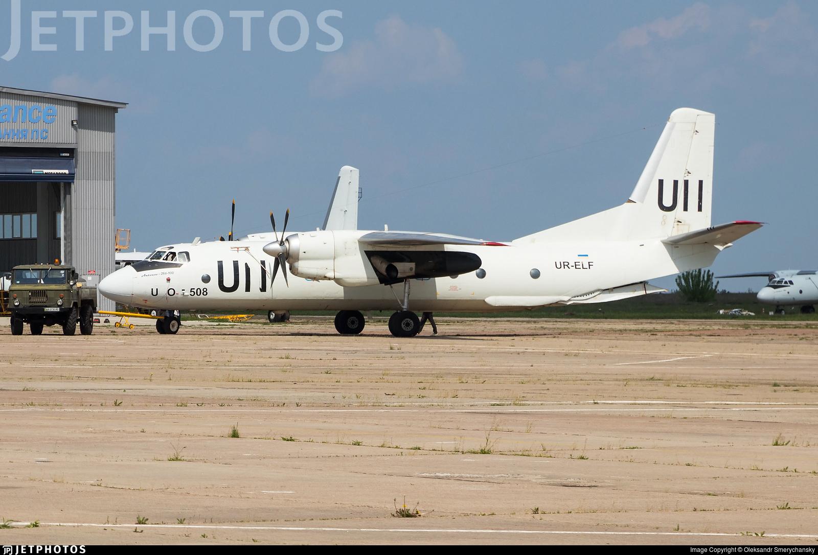 UR-ELF - Antonov An-26B-100 - United Nations (Air Urga)