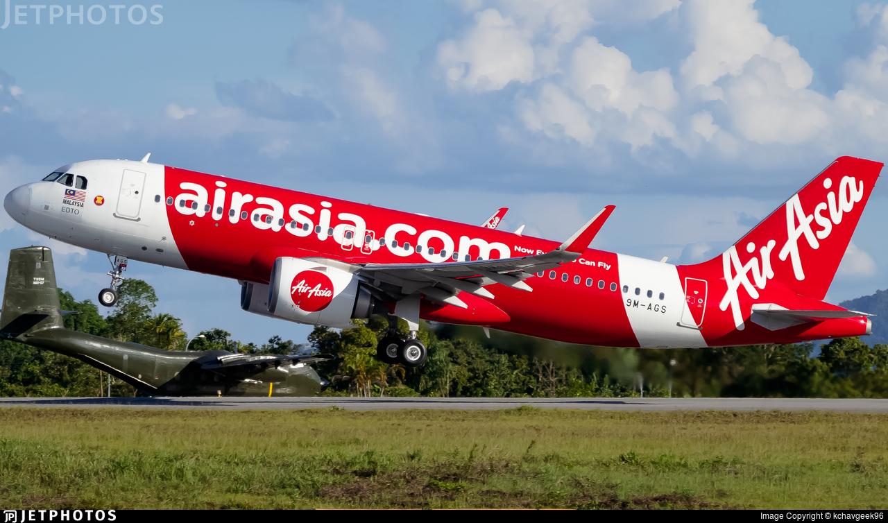 9M-AGS - Airbus A320-251N - AirAsia