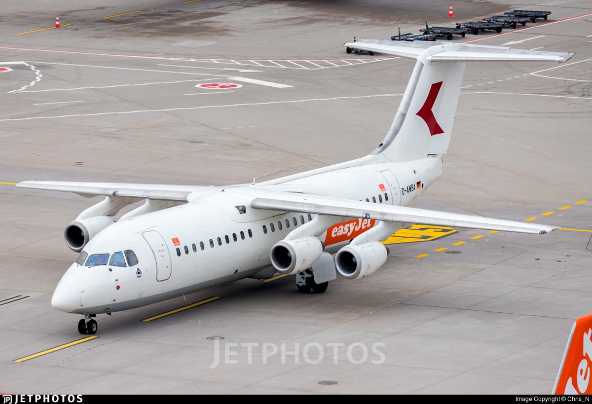 D-AWBA - British Aerospace BAe 146-300 - easyJet (WDL Aviation)