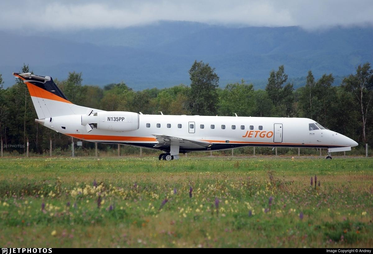 N135PP - Embraer ERJ-135LR - JetGo Australia