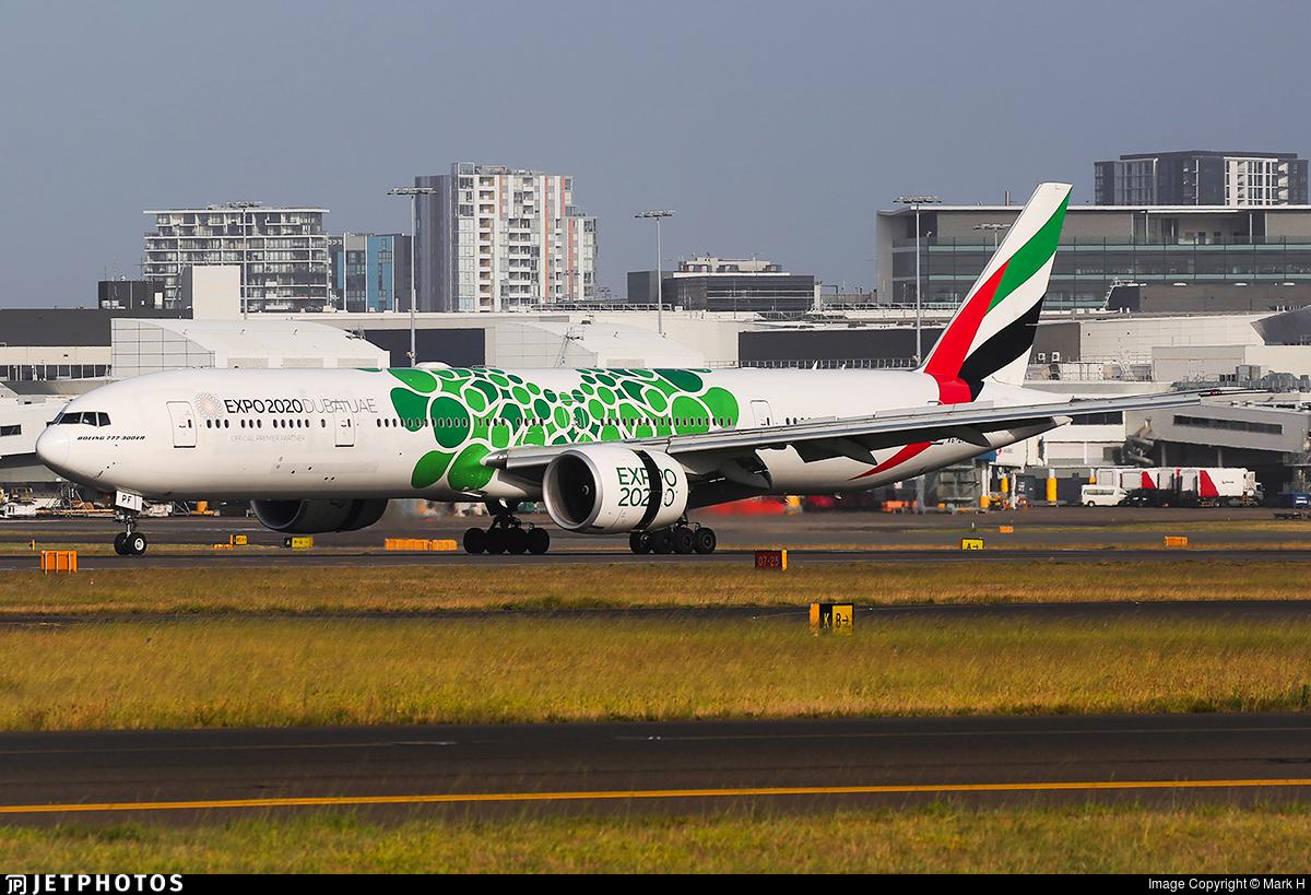 A6-EPF - Boeing 777-31HER - Emirates