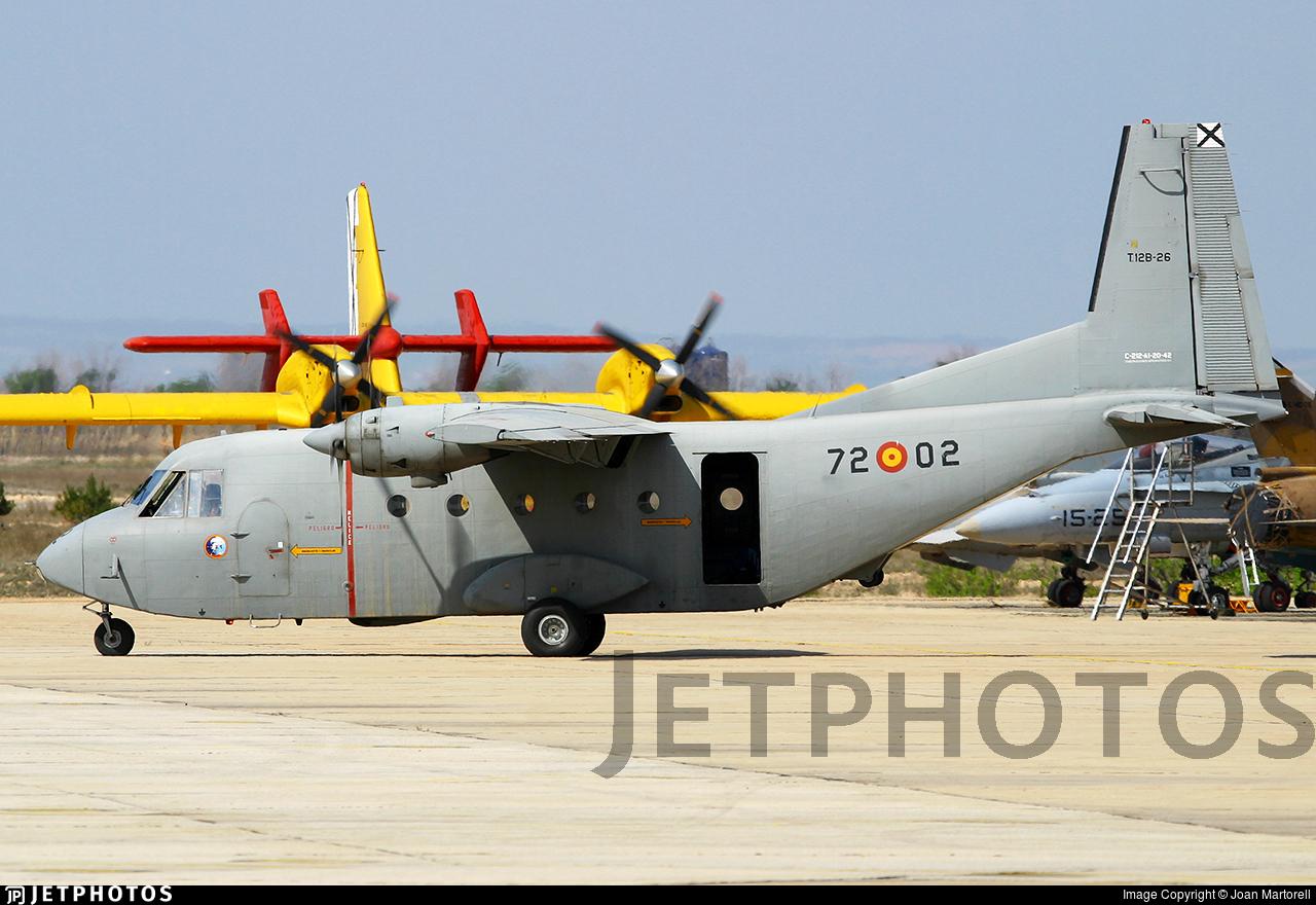T.12B-26 - CASA C-212-100 Aviocar - Spain - Air Force
