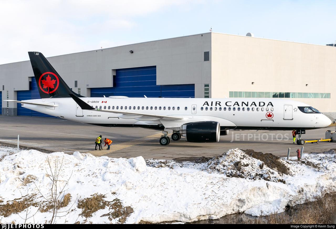 C-GROV - Airbus A220-371 - Air Canada