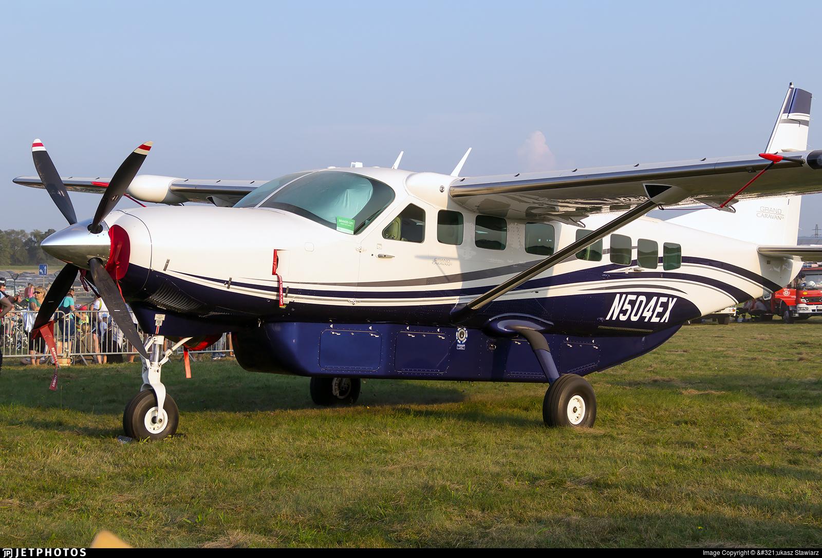 N504ex Cessna 208b Grand Caravan Ex Textron Aviation Lukasz Stawiarz Jetphotos
