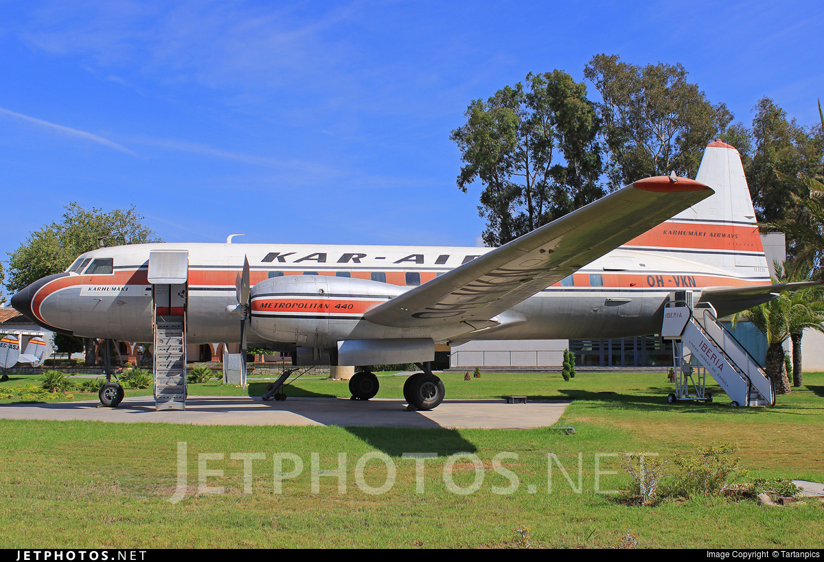 OH-VKM - Convair CV-440 - Kar-Air