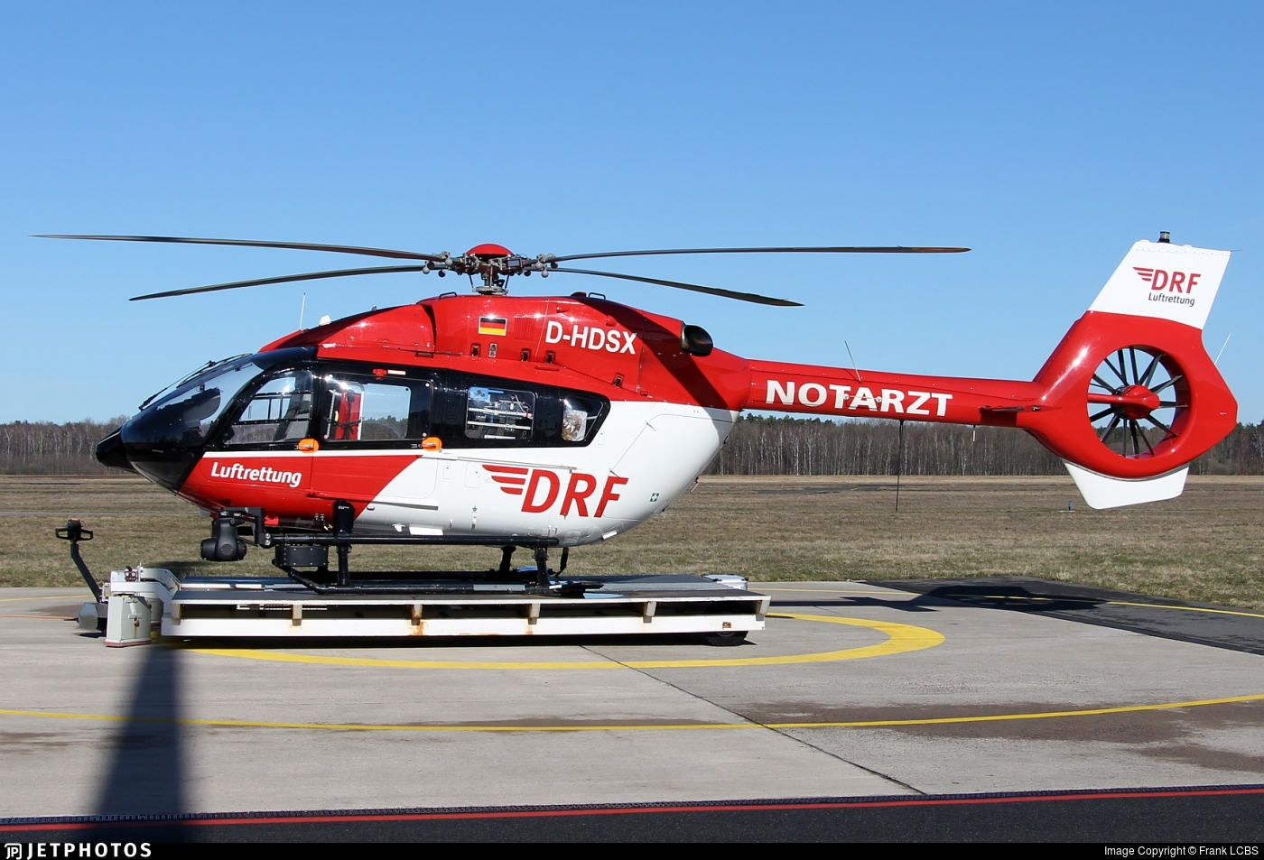 D-HDSX - Airbus Helicopters H145 - DRF Luftrettung