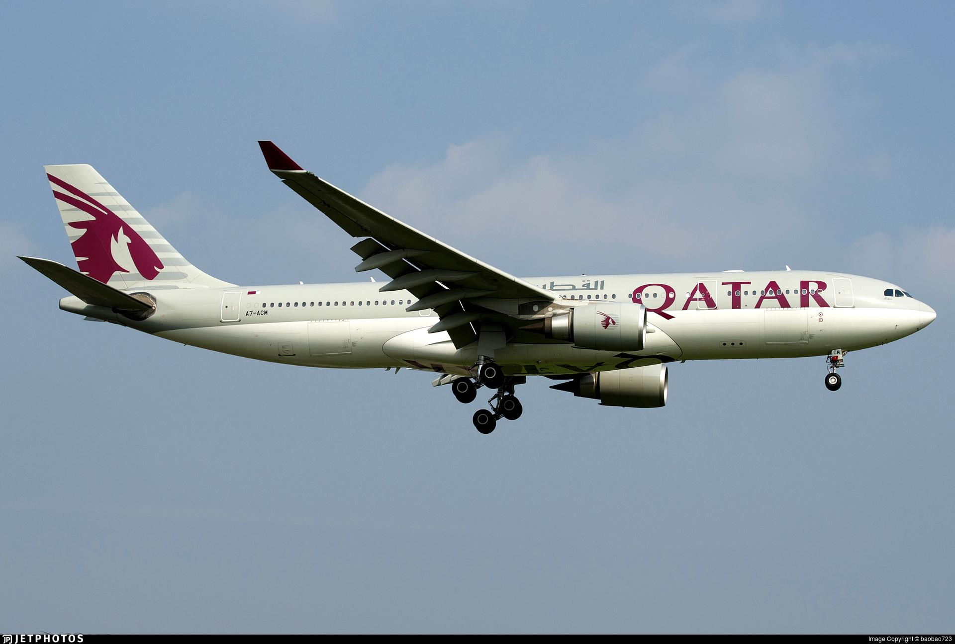 A7-ACM - Airbus A330-202 - Qatar Airways