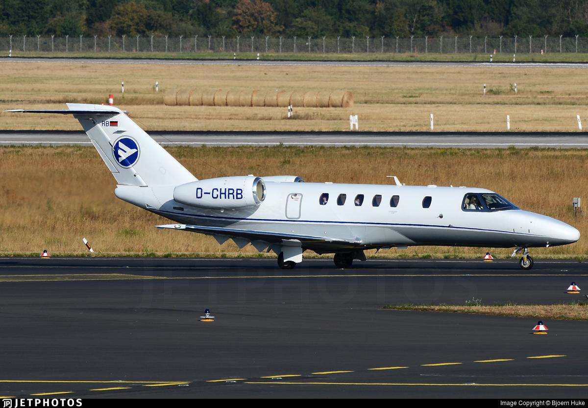 D-CHRB - Cessna 525C CitationJet 4 - Hahn Air