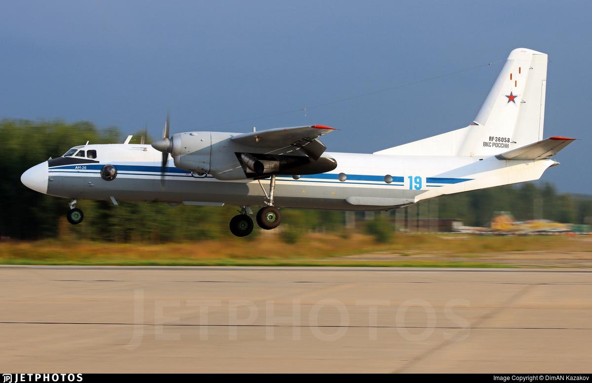 RF-36058 - Antonov An-26 - Russia - Air Force