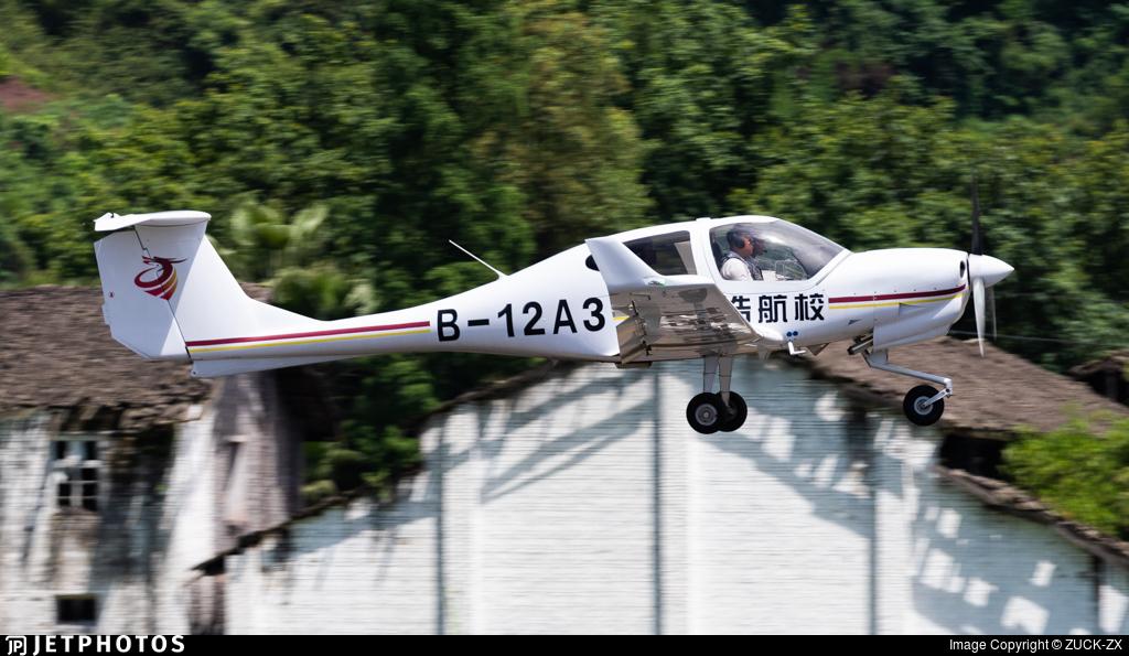 B-12A3 - Diamond DA-40NG Diamond Star - LongHao Air Training School