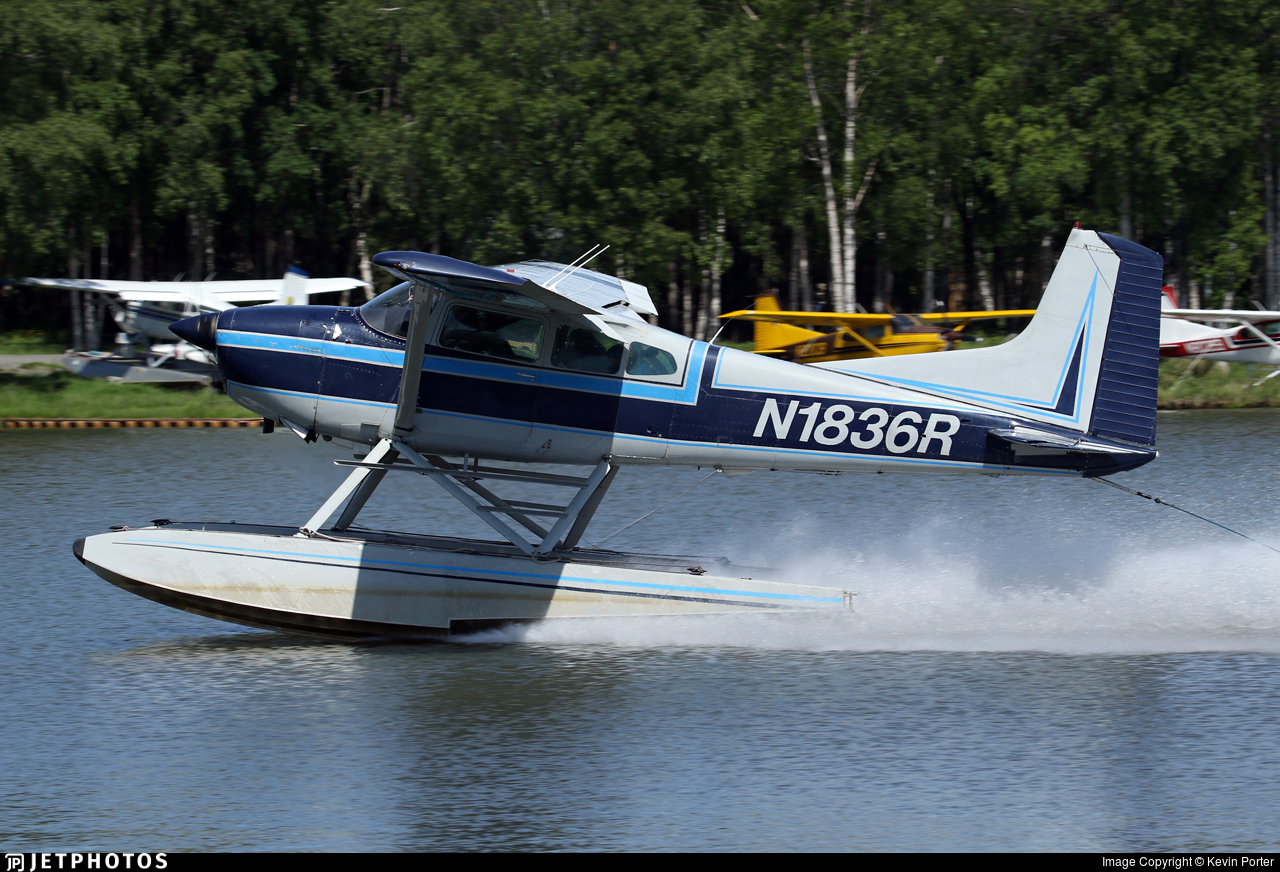 N1836R - Cessna A185F Skywagon - Private