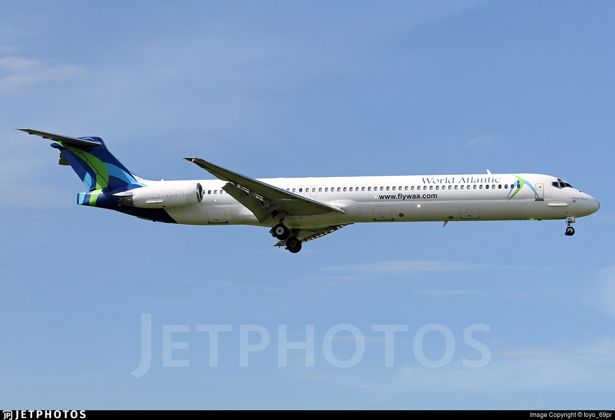 N802WA - McDonnell Douglas MD-83 - World Atlantic Airlines