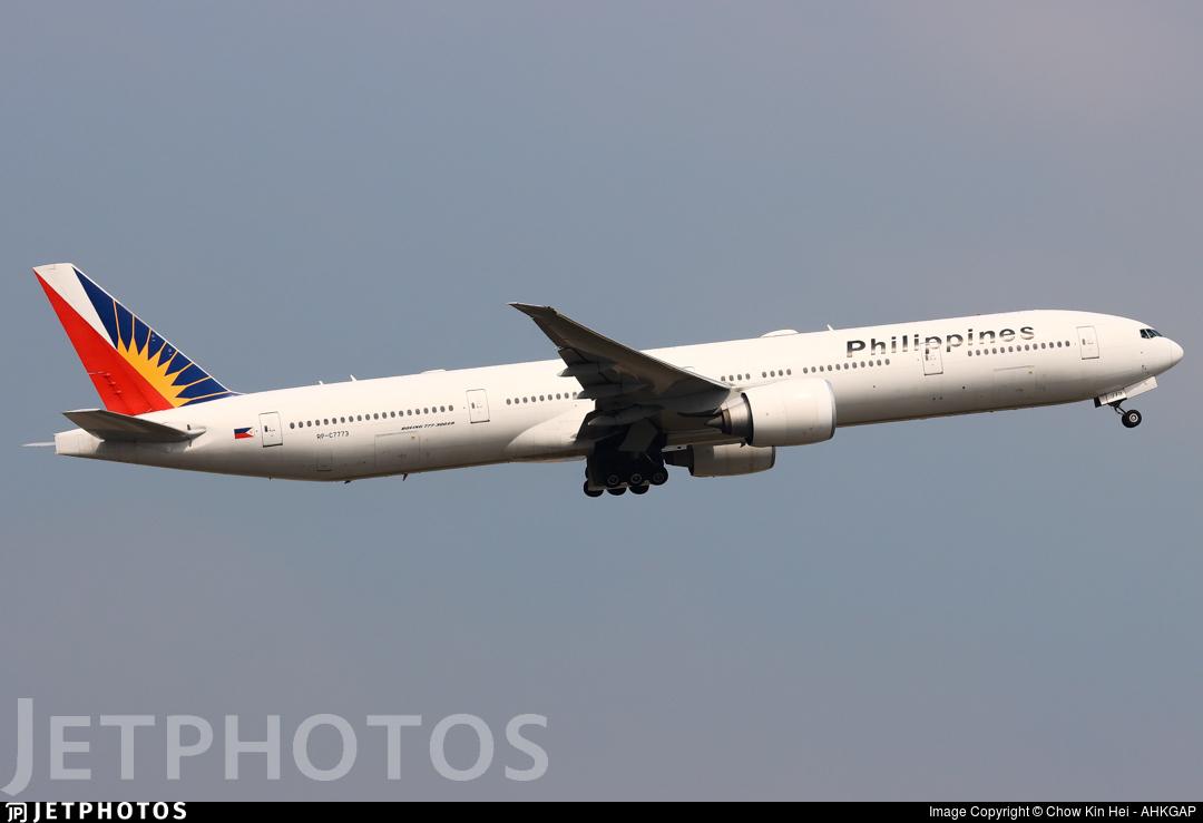 RP-C7773 - Boeing 777-3F6ER - Philippine Airlines
