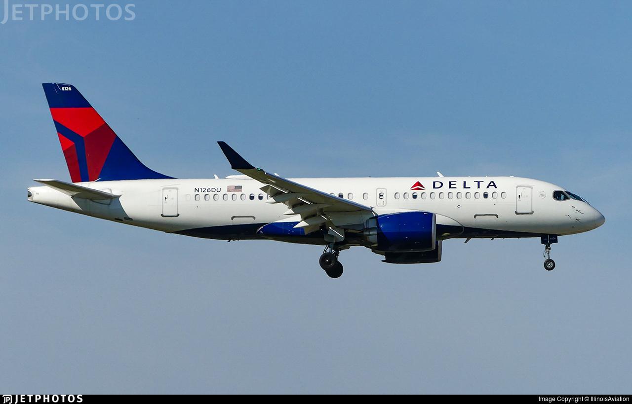 N126DU - Airbus A220-171 - Delta Air Lines