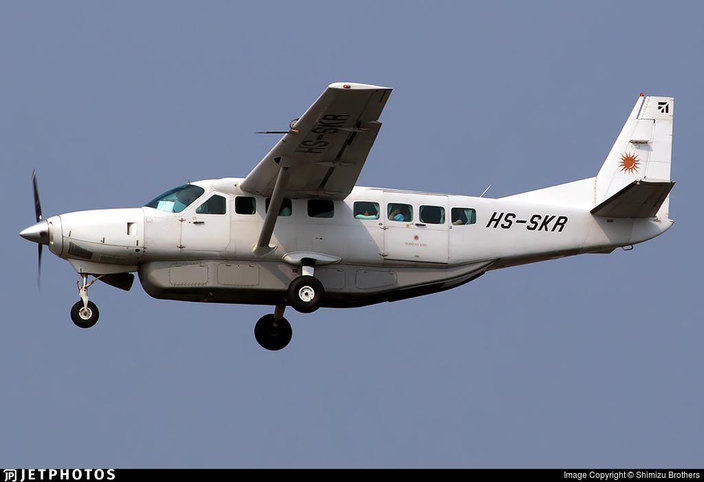 HS-SKR - Cessna 208B Grand Caravan - SGA Airlines - Siam General Aviation