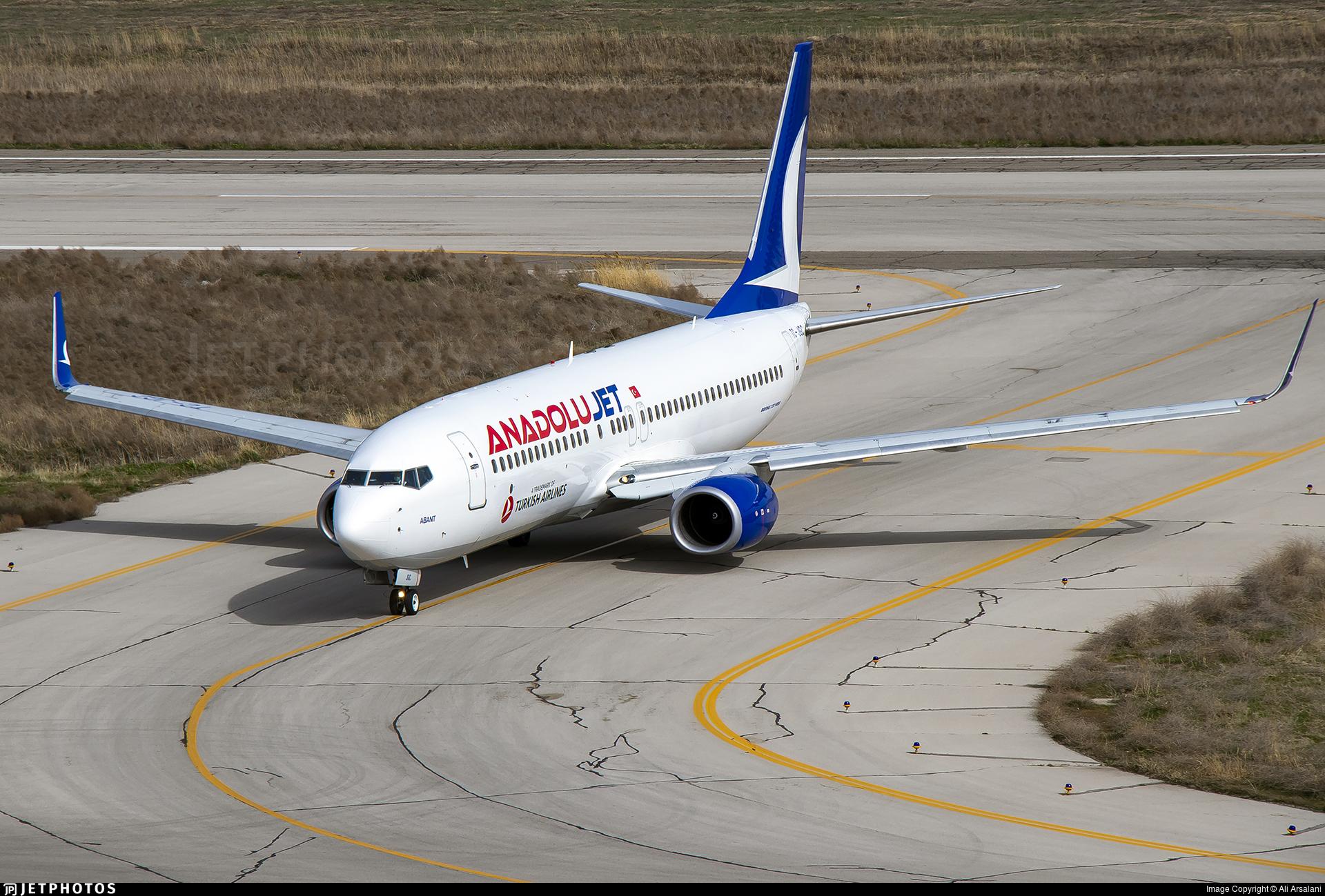 TC-JGC - Boeing 737-8F2 - AnadoluJet