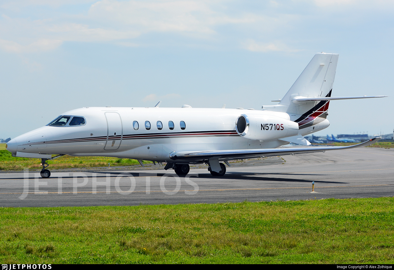N571QS - Cessna Citation Latitude - Private