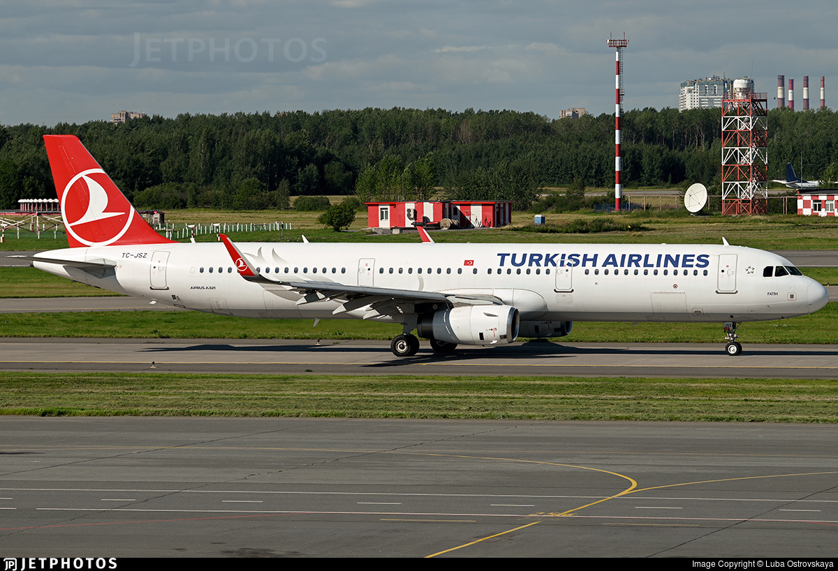 TC-JSZ - Airbus A321-231 - Turkish Airlines