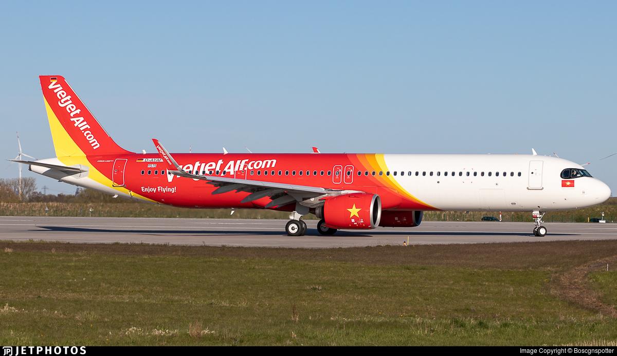 D-AYAF - Airbus A321-271NX - VietJet Air