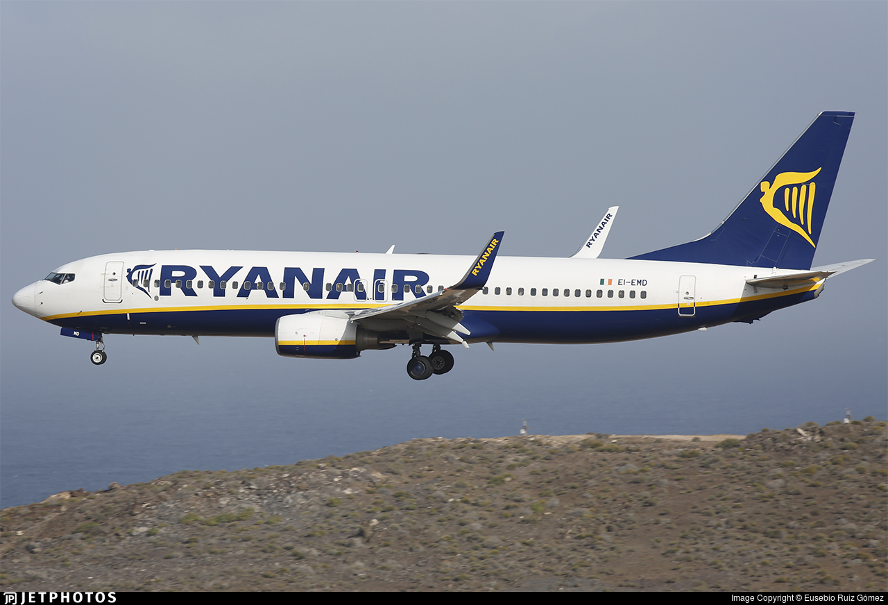EI-EMD - Boeing 737-8AS - Ryanair