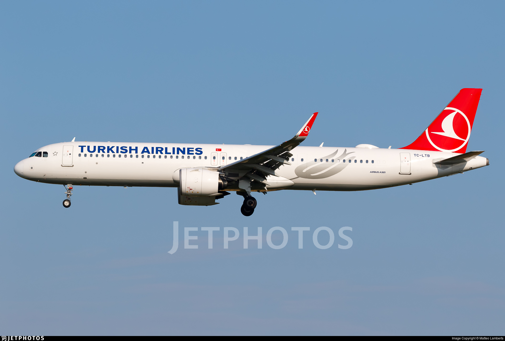 TC-LTB - Airbus A321-271NX - Turkish Airlines