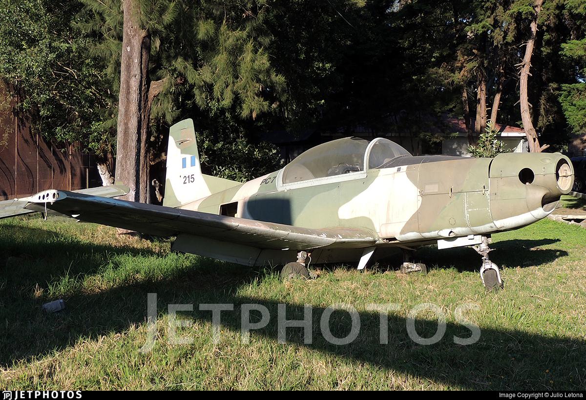 215 - Pilatus PC-7 - Guatemala - Air Force