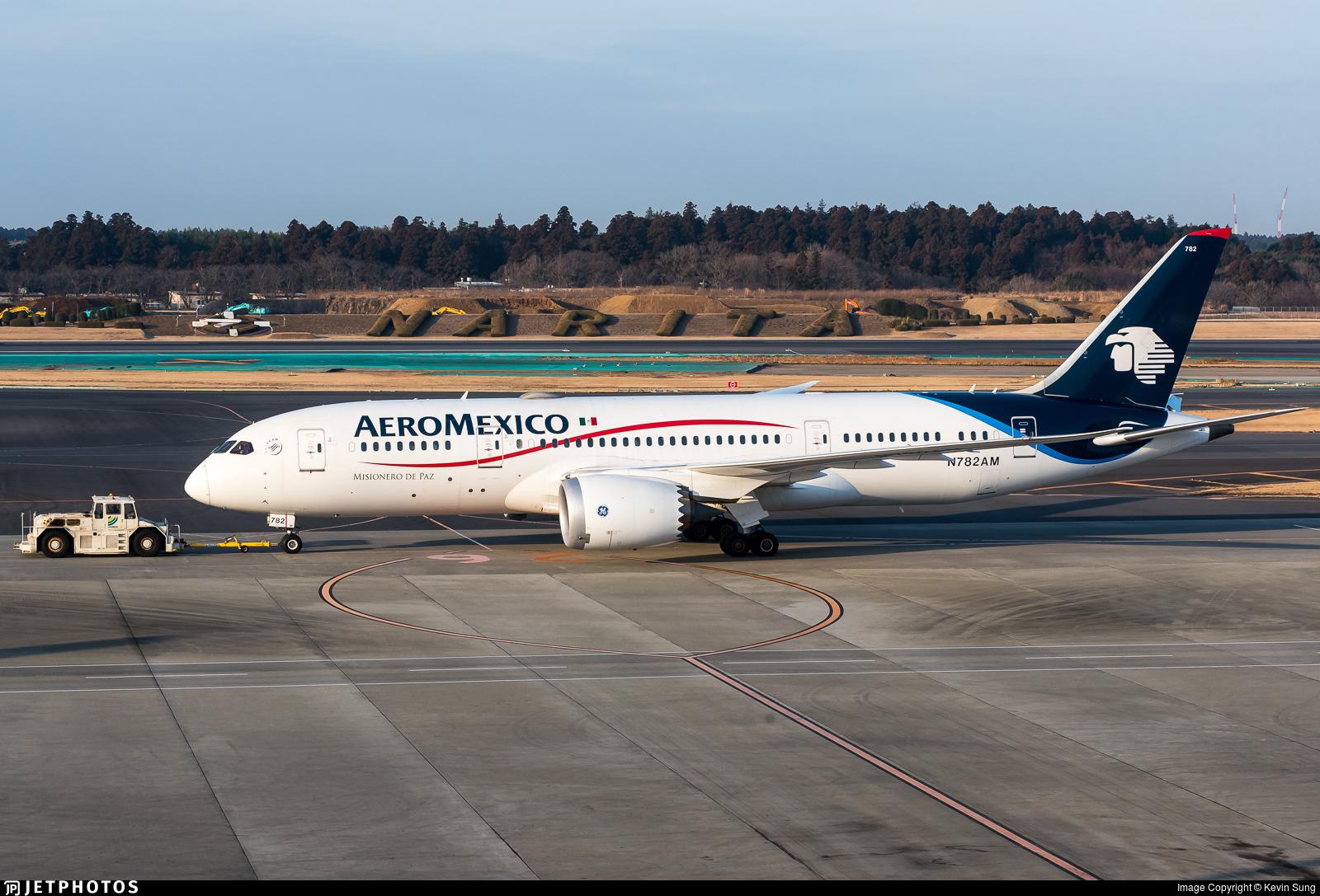 N782AM - Boeing 787-8 Dreamliner - Aeroméxico