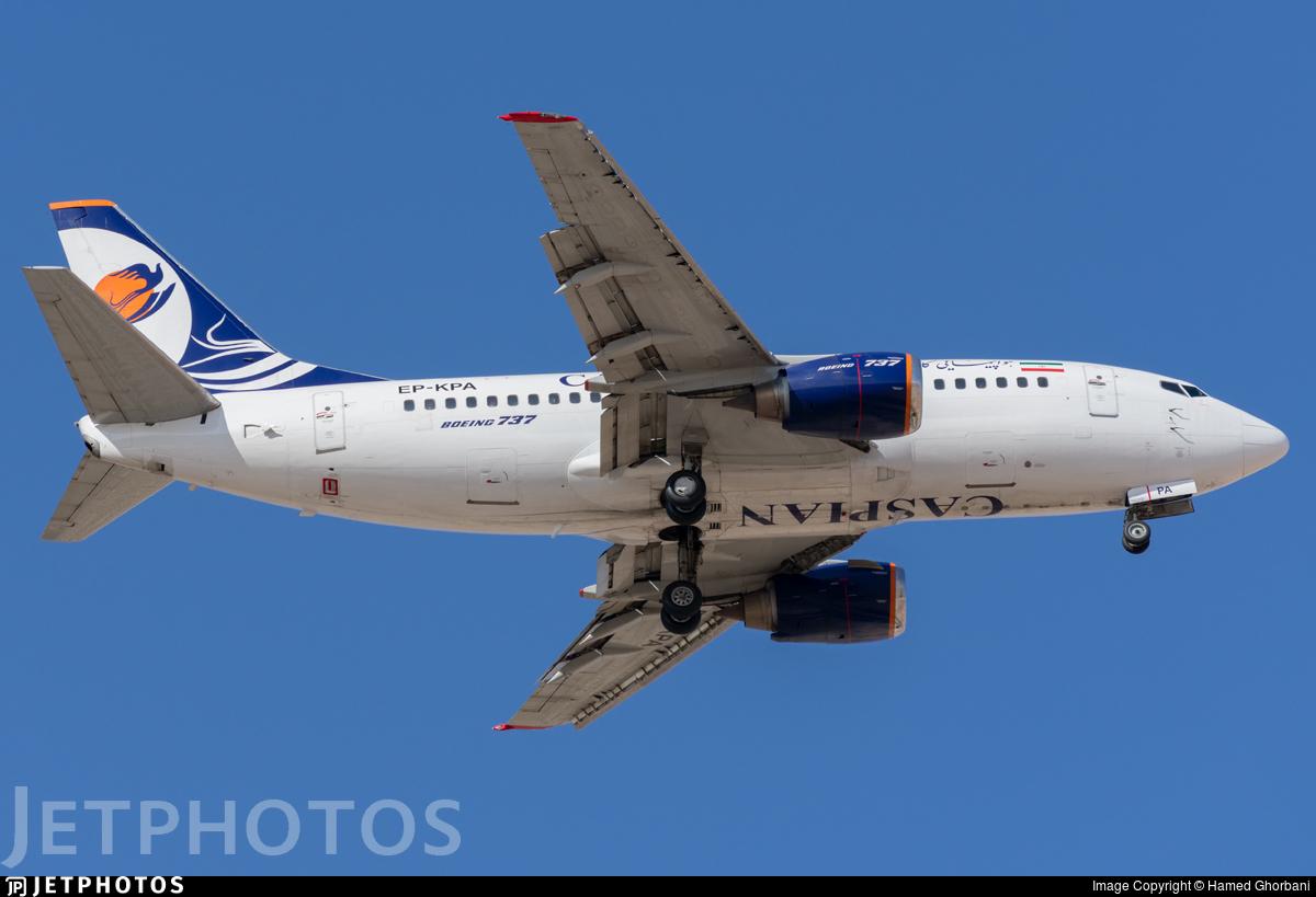 EP-KPA - Boeing 737-524 - Caspian Airlines