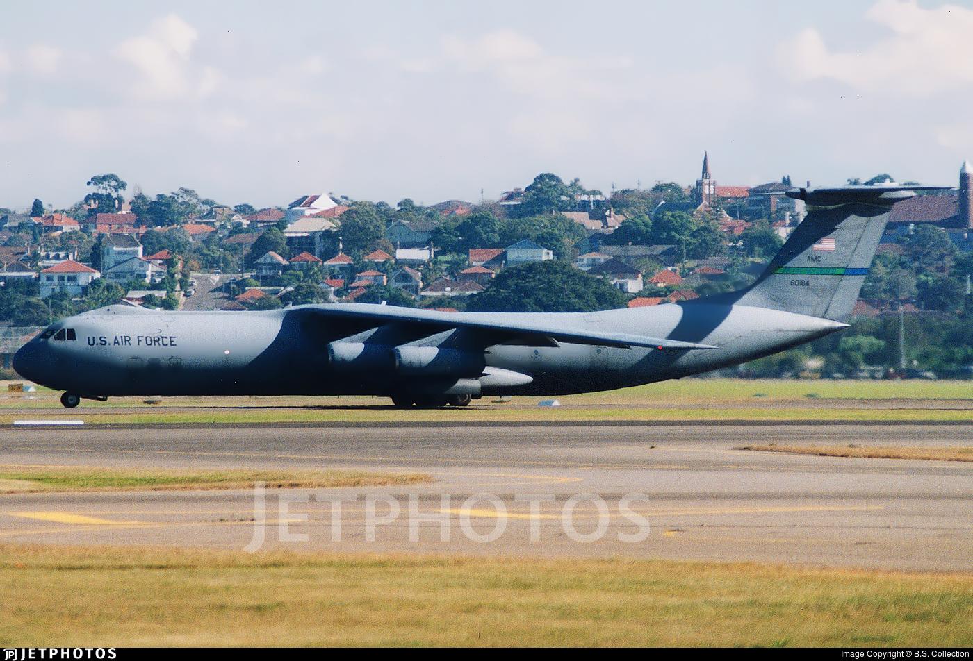 66-0184 - Lockheed C-141B Starlifter - United States - US Air Force (USAF)