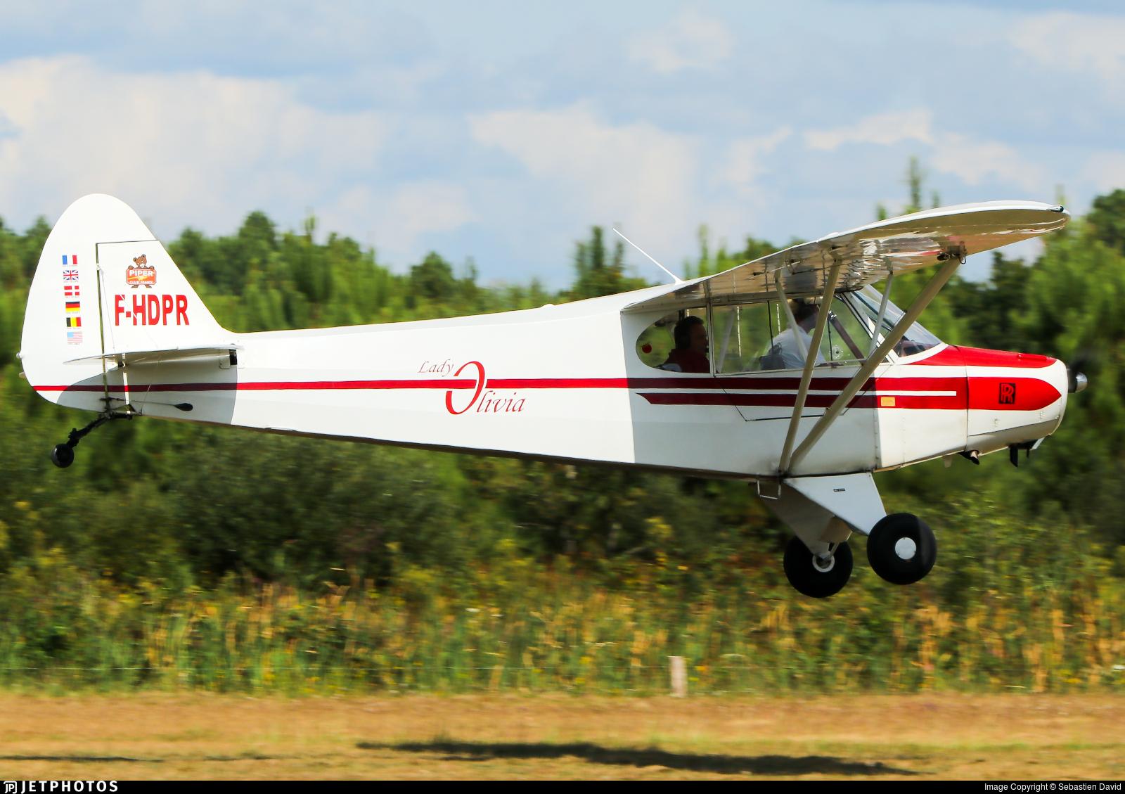 F-HDPR - Piper PA-18-95 Super Cub - Private