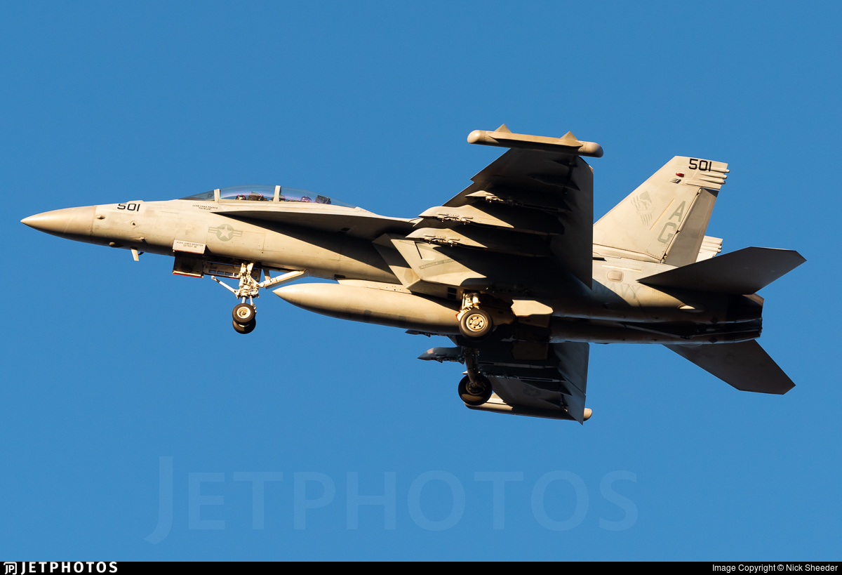 168253 - Boeing EA-18G Growler  - United States - US Navy (USN)