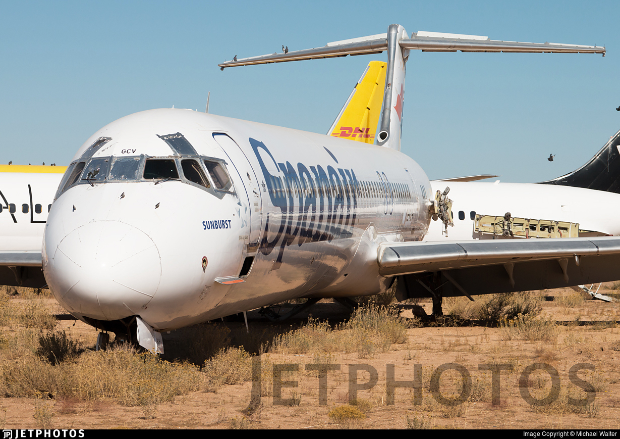 EC-GCV - McDonnell Douglas MD-82 - Spanair