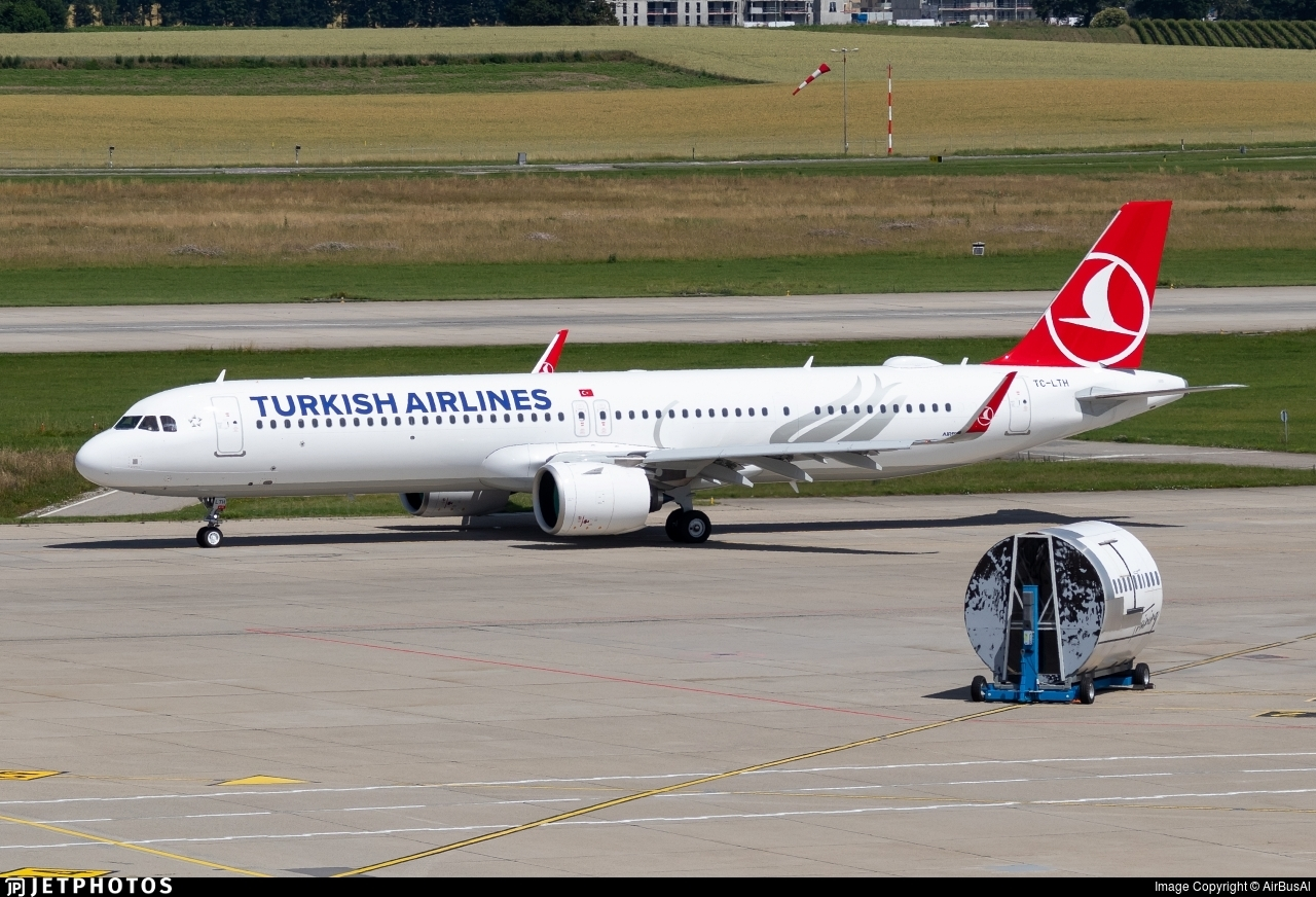 TC-LTH - Airbus A321-271NX - Turkish Airlines
