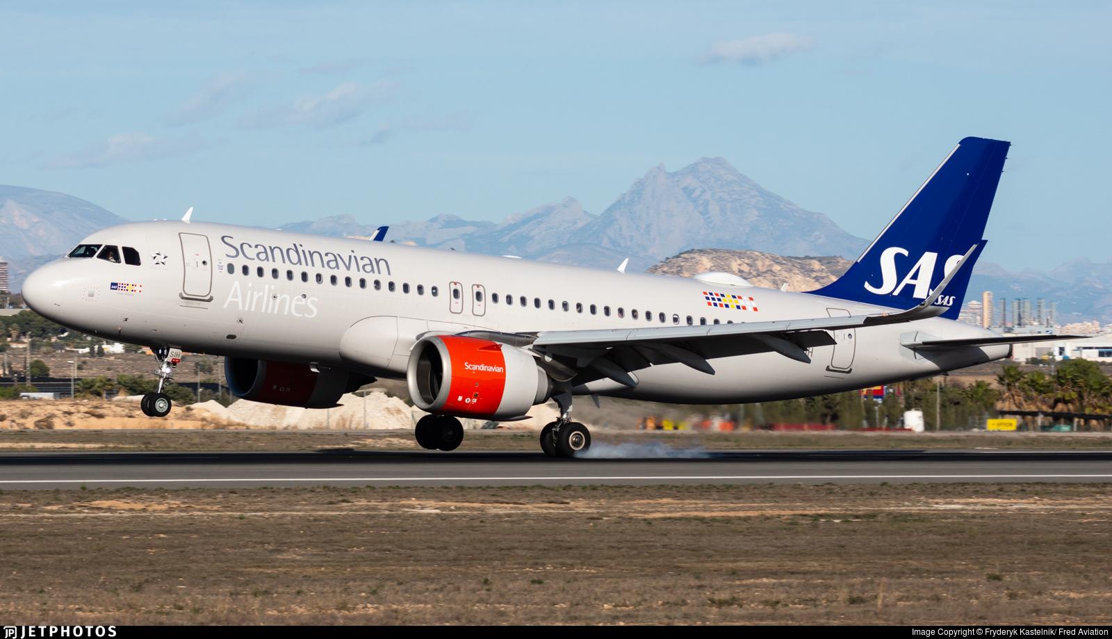 EI-SIH - Airbus A320-251N - SAS Ireland