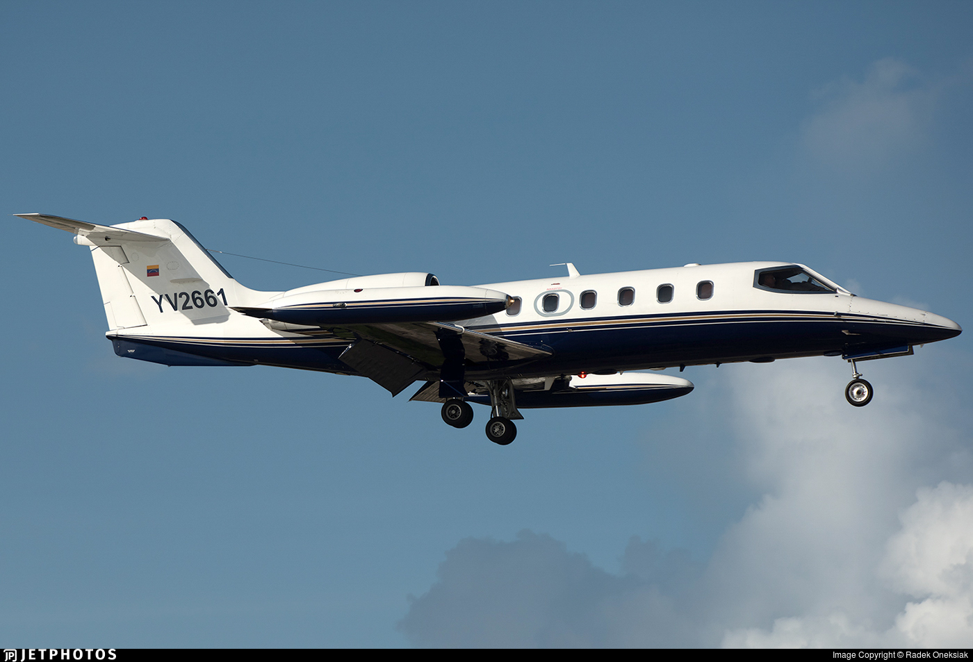 YV2661 - Bombardier Learjet 35A - Private