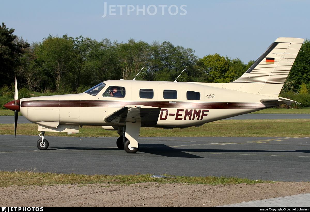 D-EMMF - Piper PA-46-350P Malibu Mirage - Private