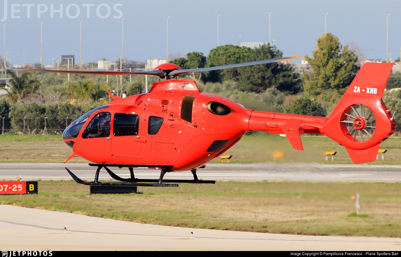 ZA-XHB - Airbus Helicopters H135 - Albania - Air Force