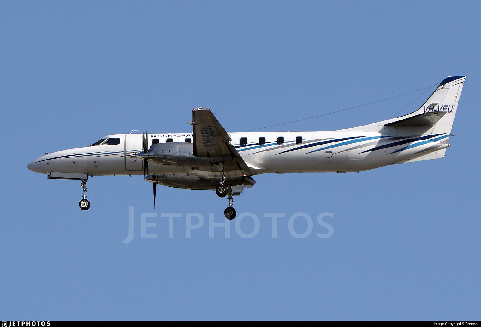 VH-VEU - Fairchild SA227-DC Metro 23 - Corporate Air