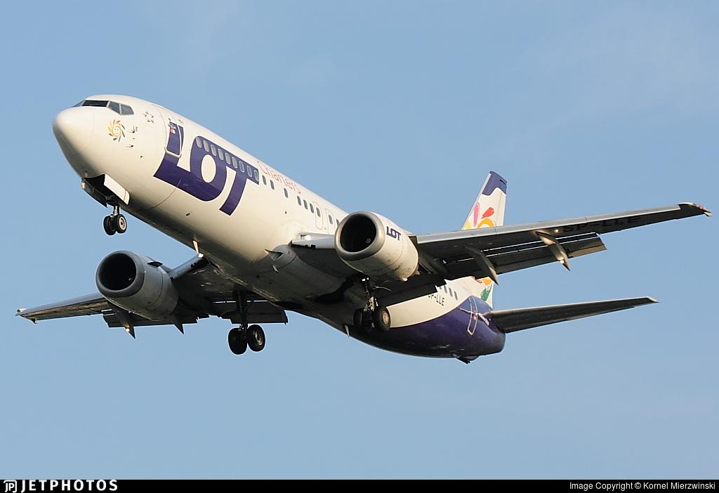 SP-LLE - Boeing 737-45D - LOT Charters